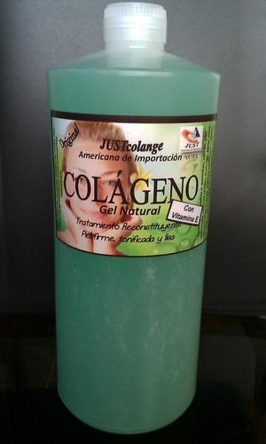 colágeno con vitamina e gel ahora en litro