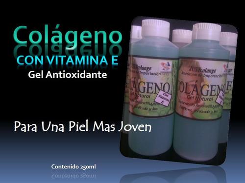 colágeno con vitamina e original retrasa el envejecimiento