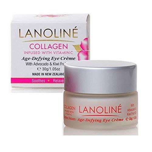 colágeno de lanolina, vitamina c, aguacate y kiwi crema para