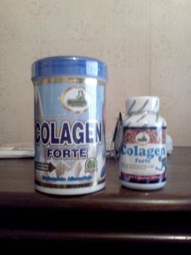 colageno forte 500 grs hidrolizado granulado+capsx100