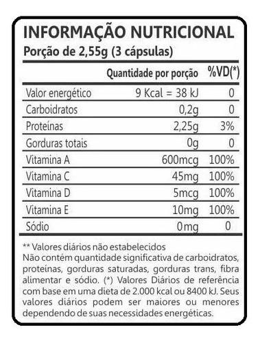 colágeno hidrolisado 120 cáps. promoção lançament kit com 04
