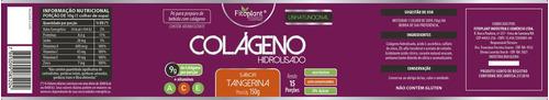 colágeno hidrolisado c/ vitaminas 150 gramas 2 potes premiun original fitoplant