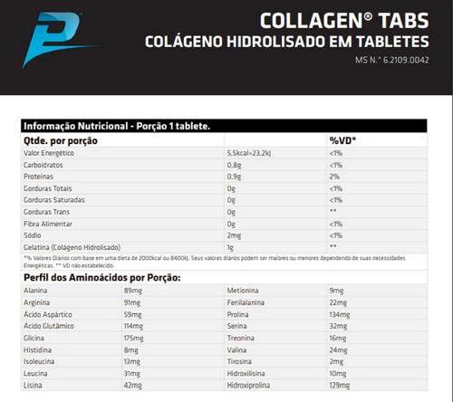 colageno hidrolisado tipo 1 performance nutrition 150 tab 3u