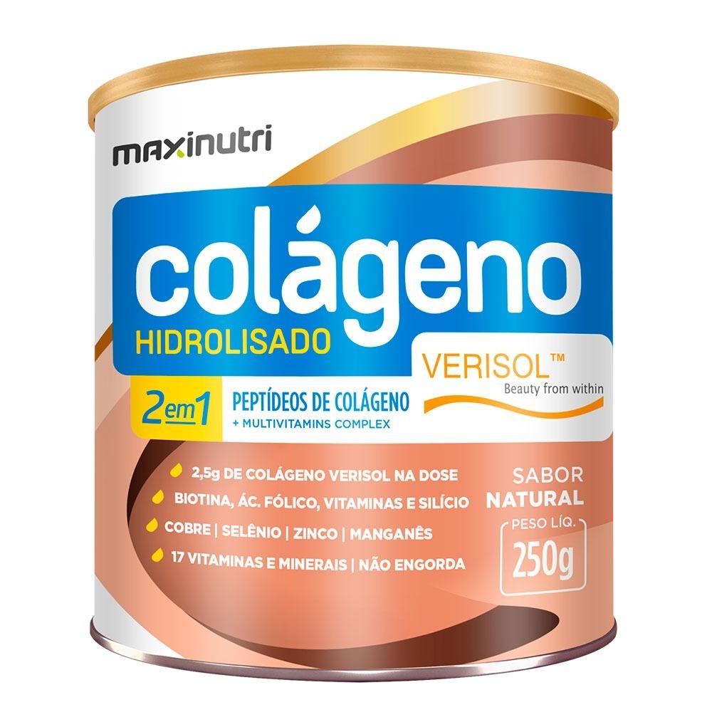 b865babaf colágeno hidrolisado verisol 2em1 250g maxinutri. Carregando zoom.