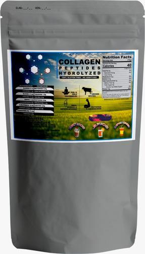 colágeno hidrolizado 1 kg 100% puro+1 kg cloruro de magnesio