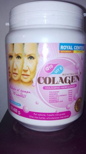 colageno hidrolizado-acido hialuronico y vitaminas c-e