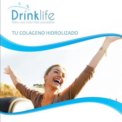 colágeno hidrolizado drinklife, frutos de arándano 500 gr