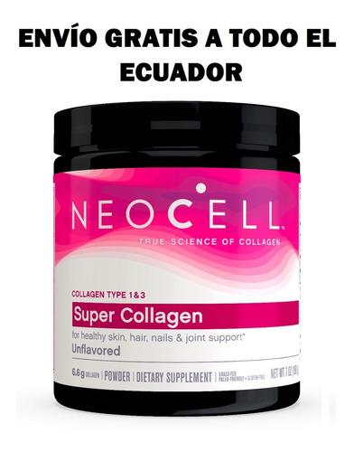 colágeno hidrolizado en polvo - neocell 7 oz.
