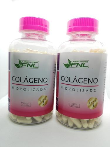colageno hidrolizado tratamiento 8 meses 500 capsulas +envio