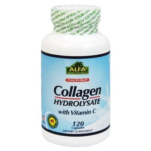 colágeno hidrolizado + vitamina c americano 120 capsulas