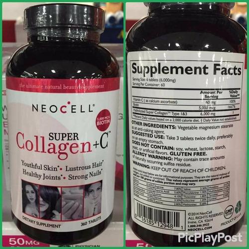 colageno neocell 250 capsulas original peru lima
