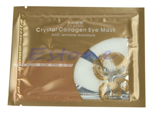 colágeno ojos contra arrugas ojeras bolsas 5 paquetes x 2