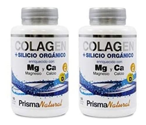 colageno silicio organico y vitaminas c y d flacidez