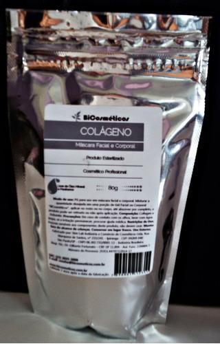 colágeno- uso estetica medicinal - esterilizado- anvisa  80g