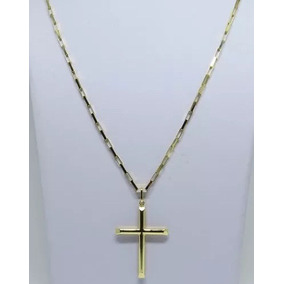 c9b71c8c2bac3 Corrente Cartier 10 Gramas Maciça + Crucifixo 4.5cm Ouro 18k