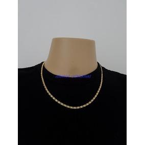 b95bad4cc7f98 Corrente Colar Cordão Nápoles Masculino Banhado Ouro 18k