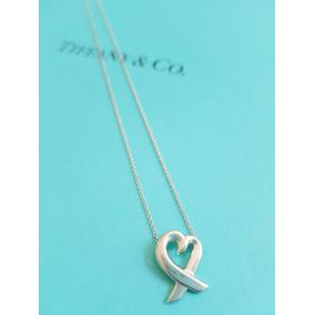 58a80c1cee8de Chaveiro Prata Modelo Heart Tag Tiffany Co - Joias e Bijuterias no ...