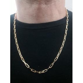 5e786e899b23c Corrente Cartier Masculina Banho Ouro 18k (10camadas)+brinde. R  99 49