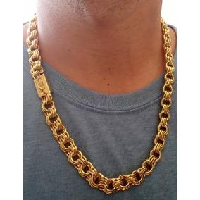 28c7118ae0795 Corrente Elo Triplo Ouro - Joias e Bijuterias no Mercado Livre Brasil