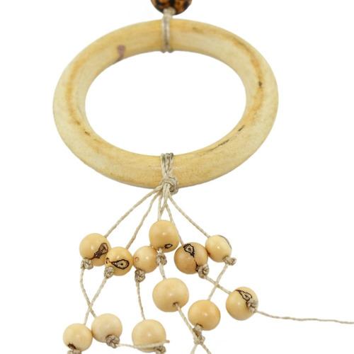 colar argola de buriti