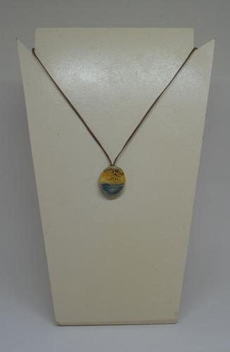 colar aromatizador pessoal de cerâmica