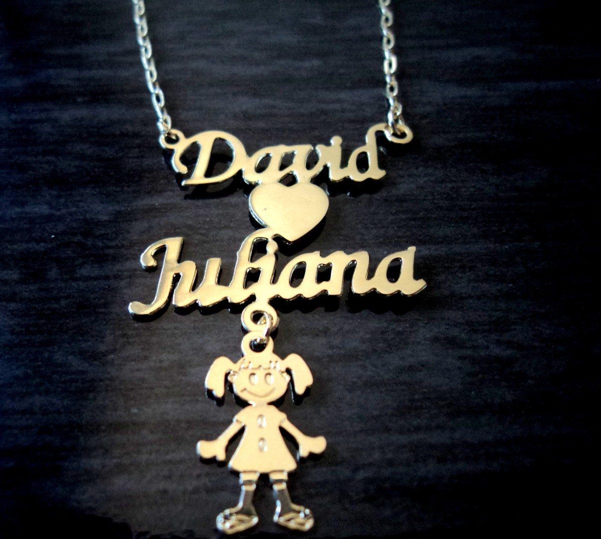 037bbdb3f6cc1 colar banho ouro pingente nome manuscrito menino canguinha. Carregando zoom.