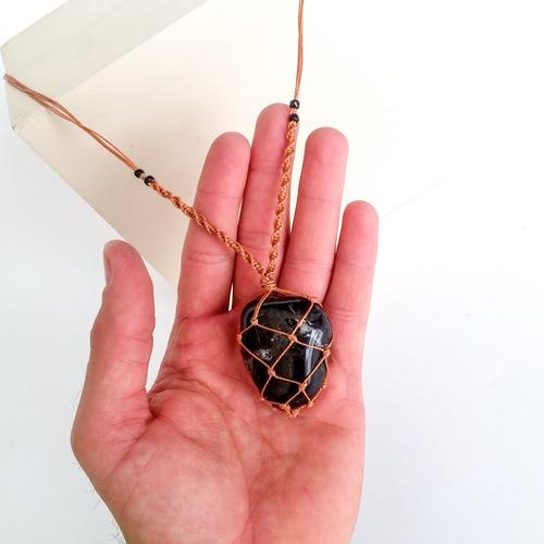 colar boa energia amuleto indígena umbanda xamânico 5
