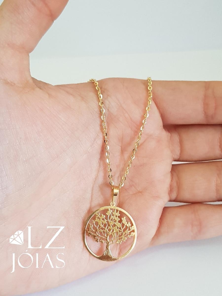 8ade2a46adb colar cartier bailarina feminina ouro 18k + pingente arvore. Carregando zoom .