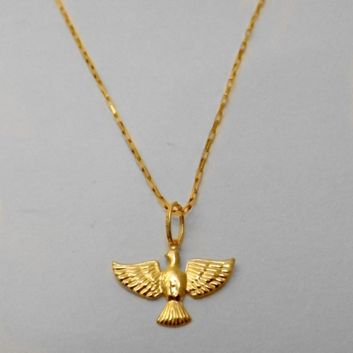 9cde70f4aa316 colar cartier pomba da paz de ouro 18k 45 cm com garantia. Carregando zoom.