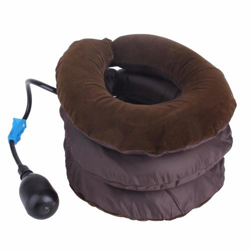 colar cervical inflável pneumático relaxar proteçao pescoço