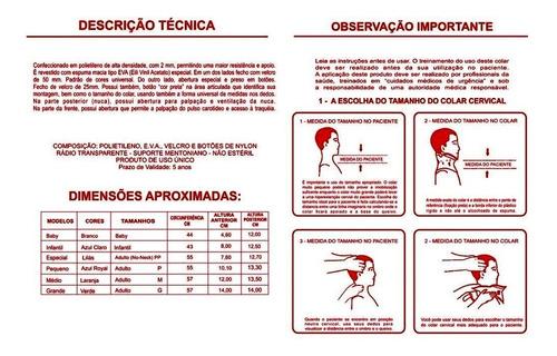 colar cervical resgate