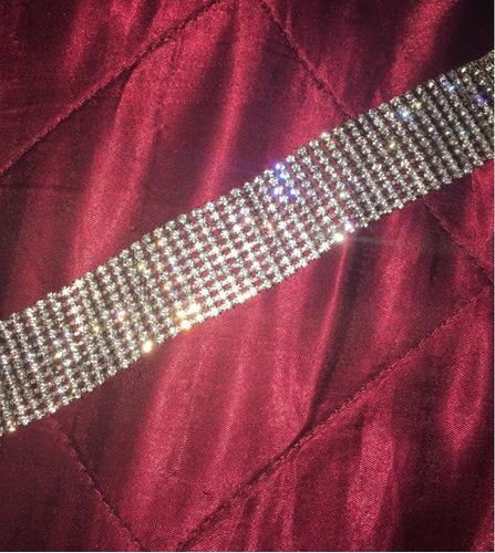 colar chocker prata gargantilha noiva festa debutante