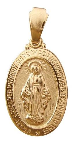 colar com medalha de nossa senhora das graças mb 0556