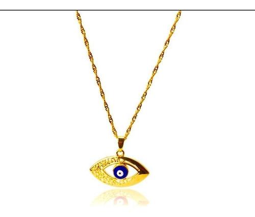 colar com olho grego