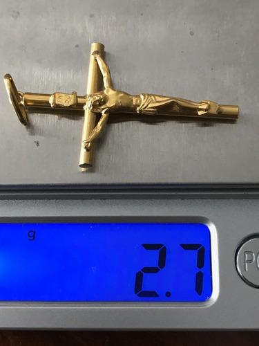 colar com pingente em ouro 18k-61cm- peso: 23.6 g