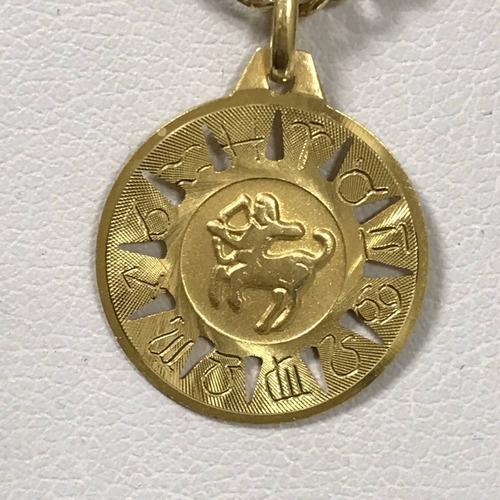 colar com pingente, em ouro 18k-750, 61,5 cm, 11,6 gr
