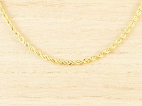 colar cordão baiano feminino 45cm e cruz tudo folheada ouro