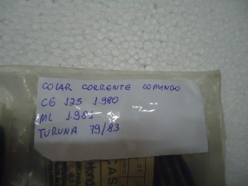 colar corrente comando turuna 125 1980 / 81 original honda