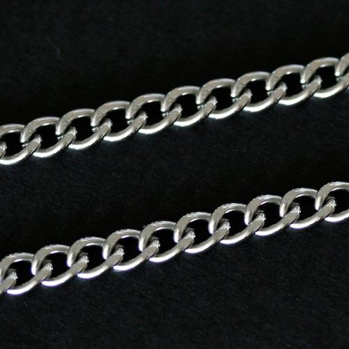 colar / corrente de aço com pingente de aço do são paulo