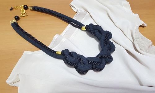 colar de corda e cordao sao francisco