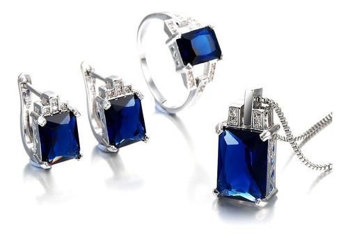 colar de luxo conjunto para as mulheres jóias de noivado