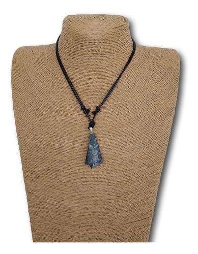 colar de pedra vassoura de bruxa ref: 7992