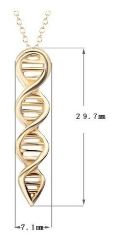 colar dna biologia ciências
