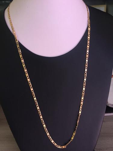 colar em ouro 18k-750-8.7gramas-63cm.unisex.