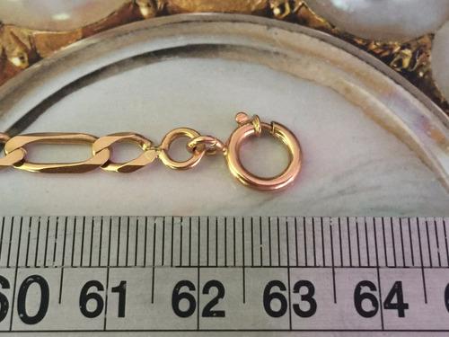 colar em ouro 18k  tam: 63cm peso 29 g-unisex.