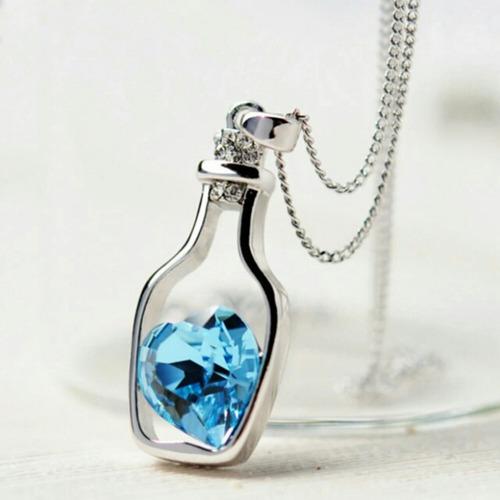 colar feminino cristal- vários modelos- super promoção