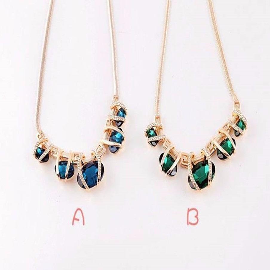 b30e41134 colar feminino de ouro 18 folheado acessorios joia da moda. Carregando zoom.