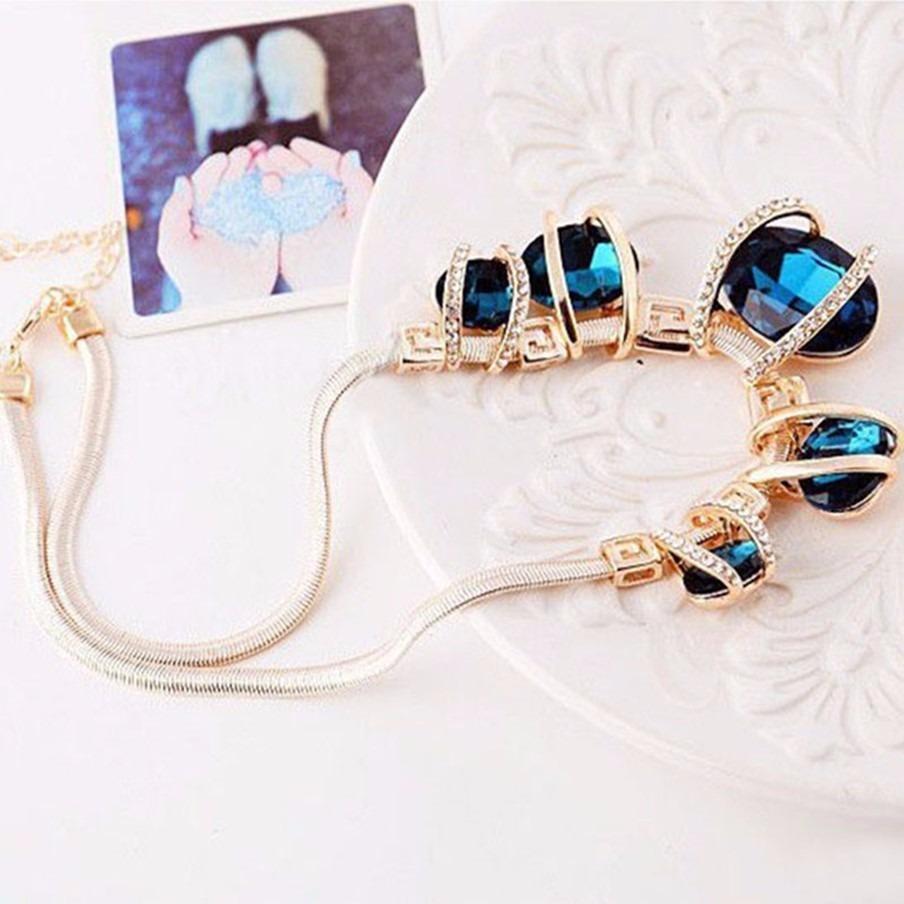 433a26d1c ... 18 folheado acessorios joia da moda. Carregando zoom... colar feminino  ouro joia. Carregando zoom.