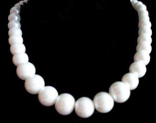 colar feminino pérola bijuteria colares da moda