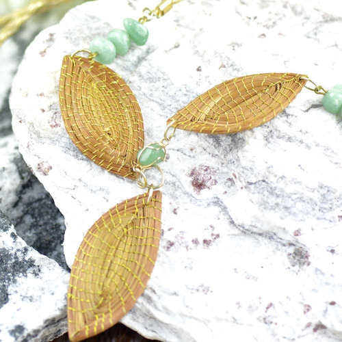 colar folhas